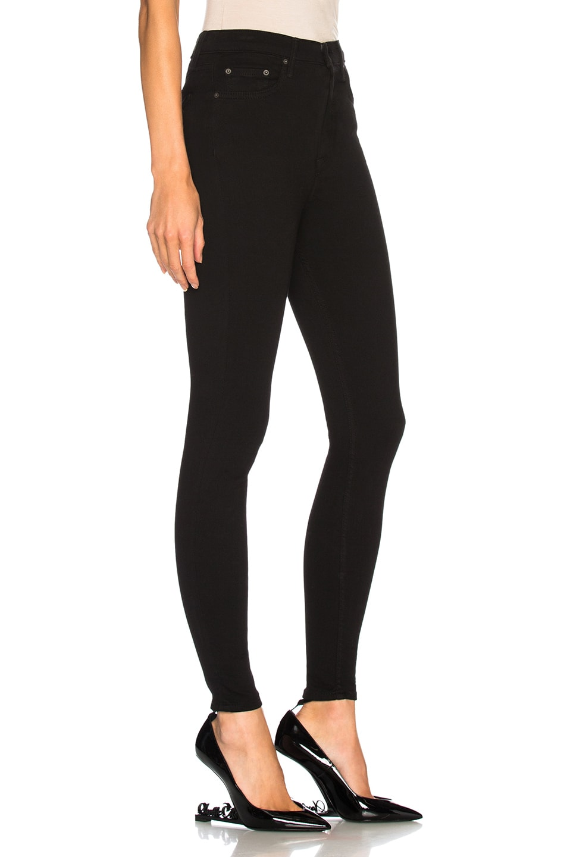 Image 2 of GRLFRND Kendall Super Stretch High Rise Skinny Jean in Black Magic Woman