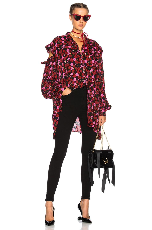 Image 4 of GRLFRND Kendall Super Stretch High Rise Skinny Jean in Black Magic Woman