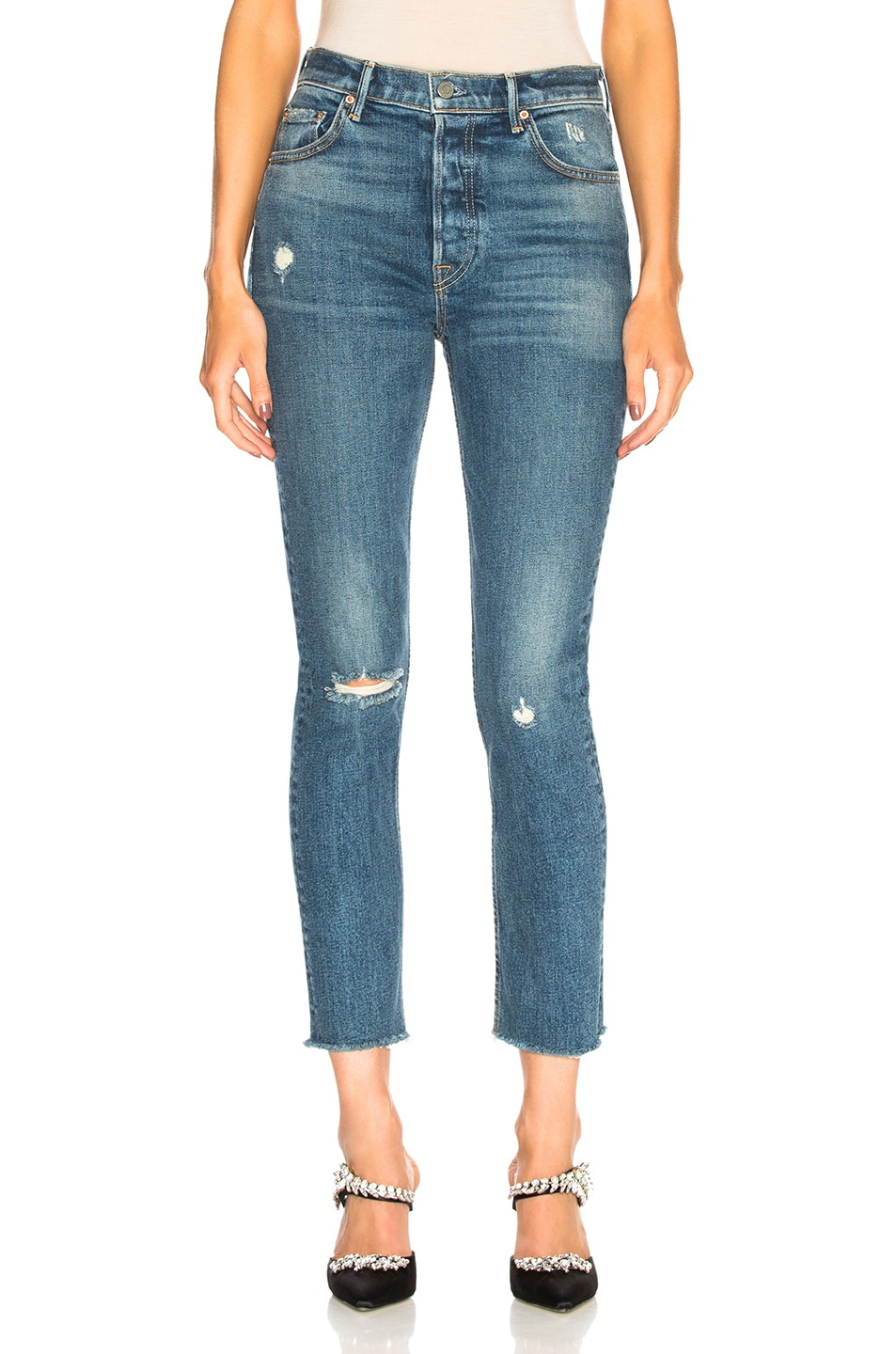 Image 1 of GRLFRND Karolina High Rise Skinny in Sixpence