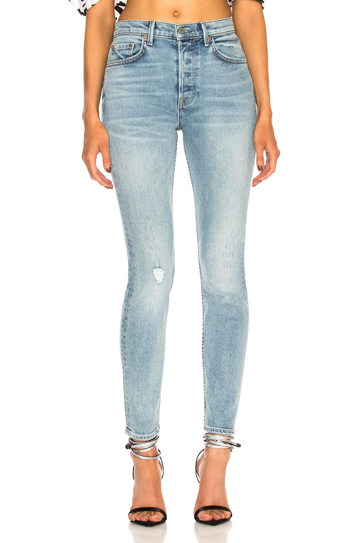 Image 1 of GRLFRND Karolina High-Rise Crop Jean in Go Low