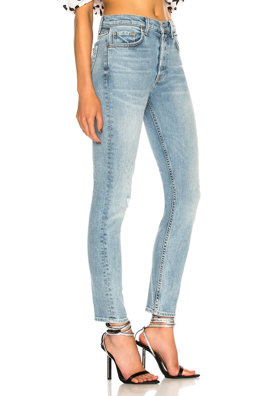 Image 2 of GRLFRND Karolina High-Rise Crop Jean in Go Low