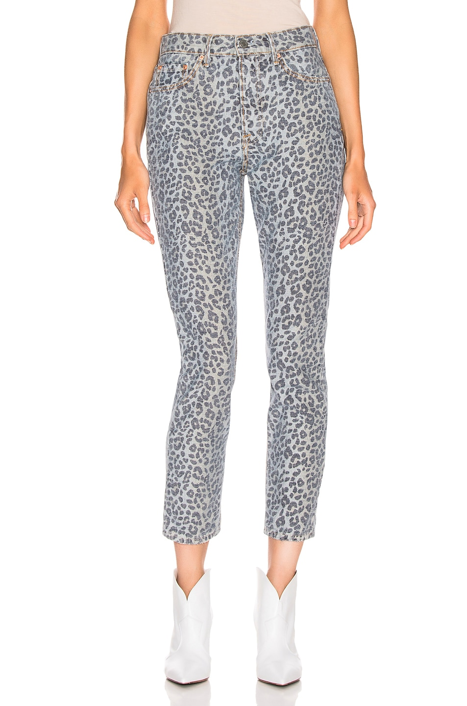 Image 1 of GRLFRND Karolina High Rise Skinny in Wild Cat