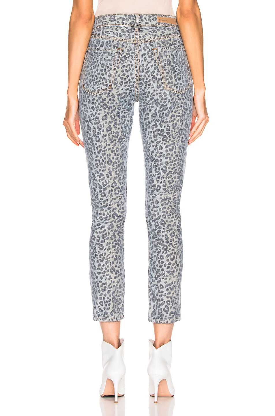 Image 3 of GRLFRND Karolina High Rise Skinny in Wild Cat
