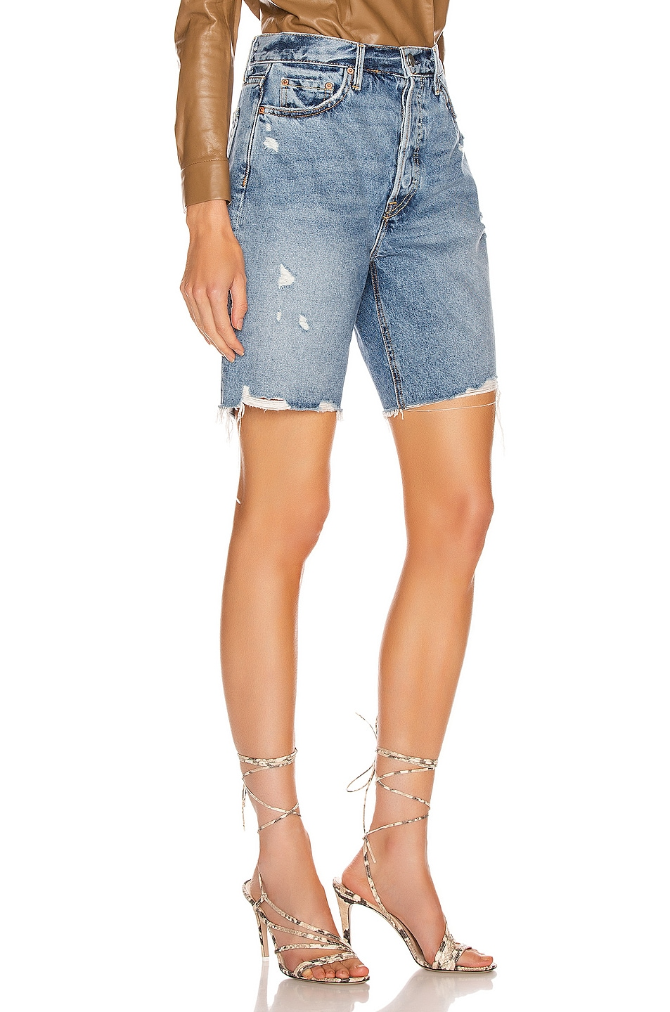 Image 2 of GRLFRND Marjan Bermuda Shorts in Step It Up