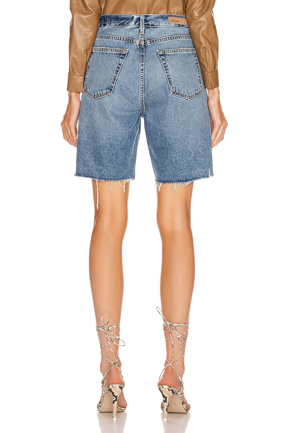 Image 3 of GRLFRND Marjan Bermuda Shorts in Step It Up