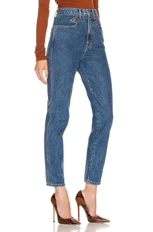 Image 2 of GRLFRND Rossana Western CF Yoke Vintage Slim Fit in Call It Love