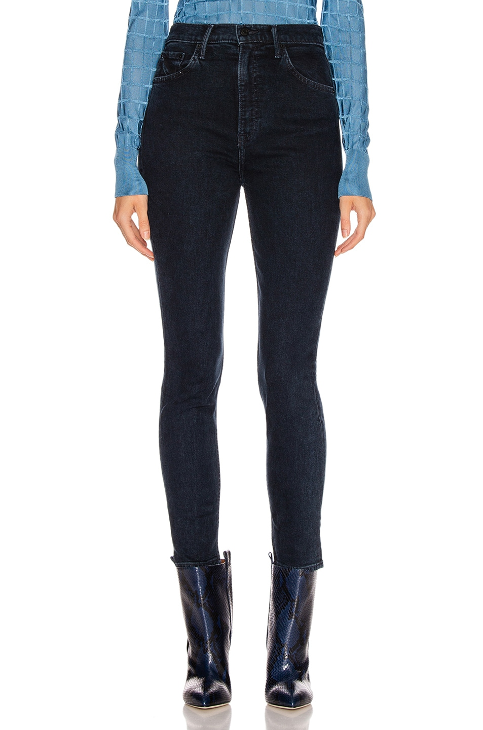 Image 1 of GRLFRND Kendall Super High Rise Skinny in Don't Lose Me