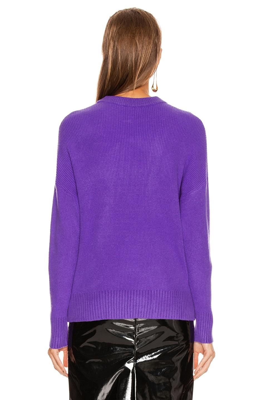 Image 3 of GRLFRND Rosalie Sweater in Purple
