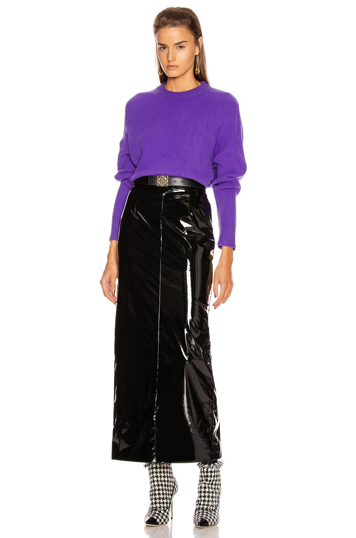 Image 4 of GRLFRND Rosalie Sweater in Purple