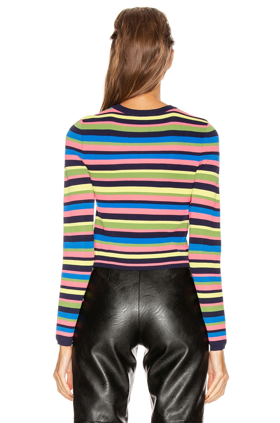 Image 3 of GRLFRND Nash Sweater Tee in Multi Stripe