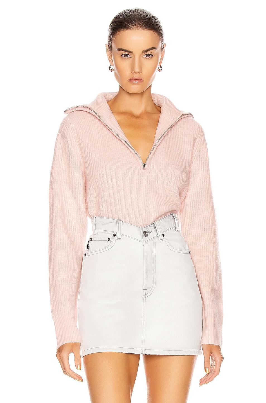 Image 1 of GRLFRND Babygirl Pullover Sweater in Pink
