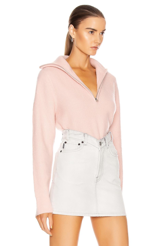 Image 3 of GRLFRND Babygirl Pullover Sweater in Pink