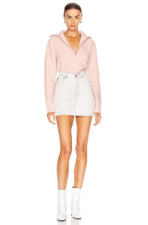 Image 5 of GRLFRND Babygirl Pullover Sweater in Pink