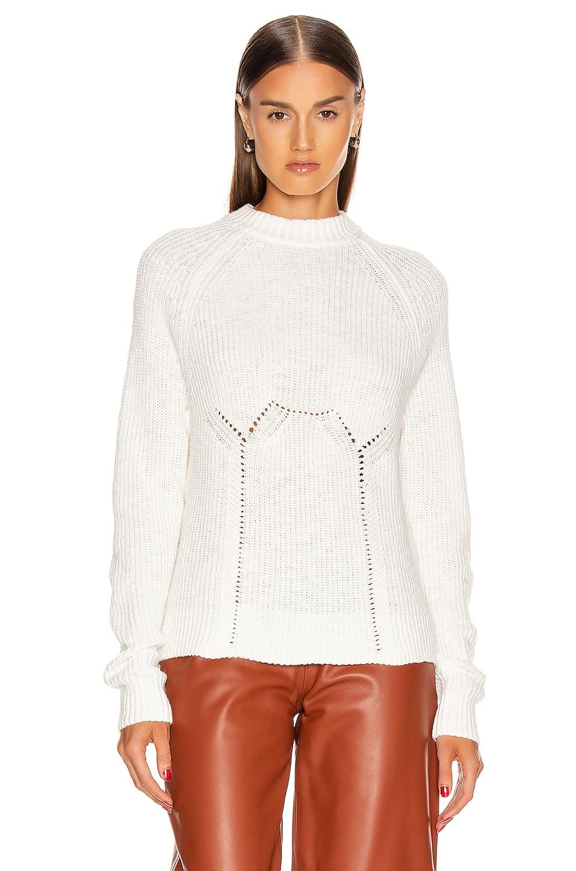 Image 2 of GRLFRND Shawna Sweater in White