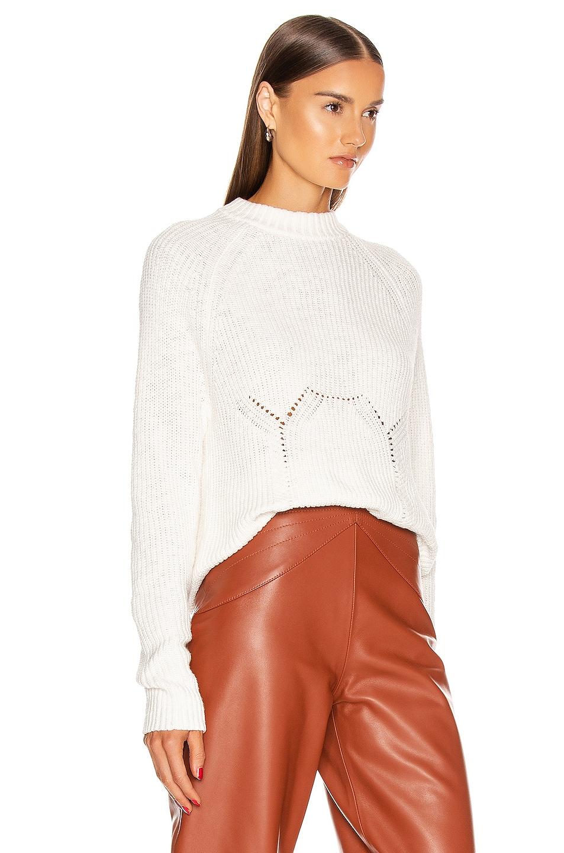 Image 3 of GRLFRND Shawna Sweater in White