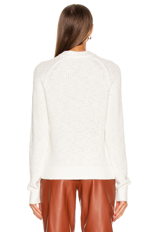 Image 4 of GRLFRND Shawna Sweater in White