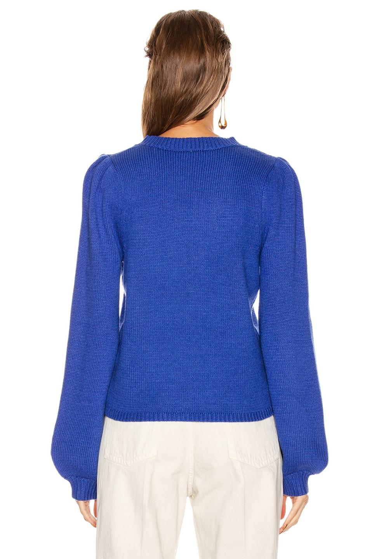 Image 3 of GRLFRND Penelope Sweater in Princess blue