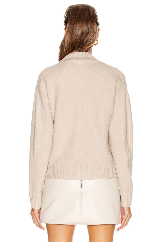 Image 3 of GRLFRND Olivia Tunic Sweater in Beige