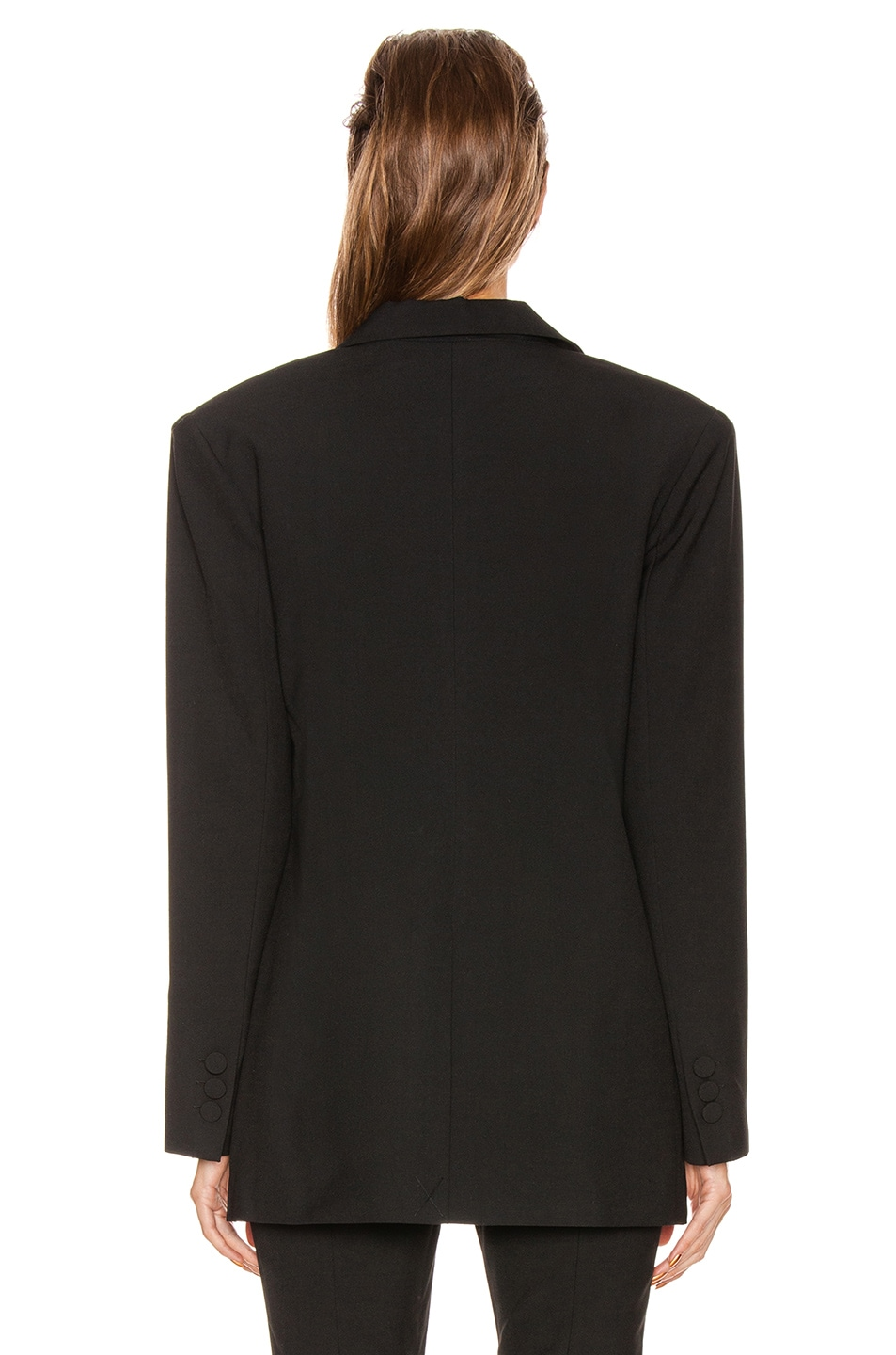 Image 4 of GRLFRND Power Blazer in Black