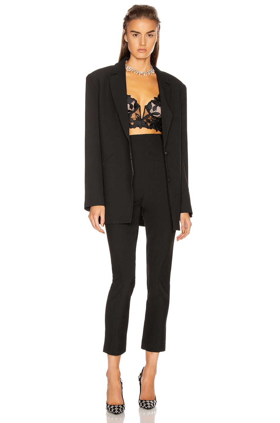 Image 5 of GRLFRND Power Blazer in Black