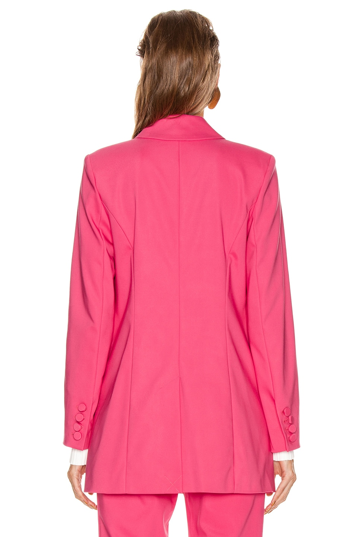 Image 4 of GRLFRND Jeane Suit Jacket in Bright Pink