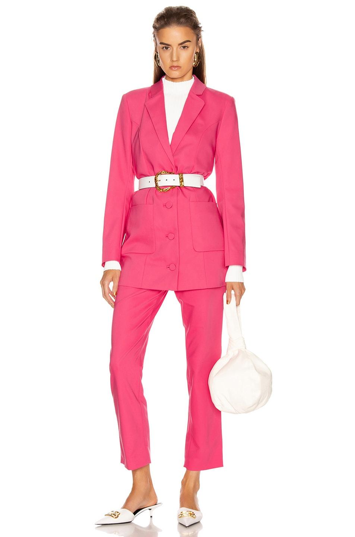 Image 5 of GRLFRND Jeane Suit Jacket in Bright Pink