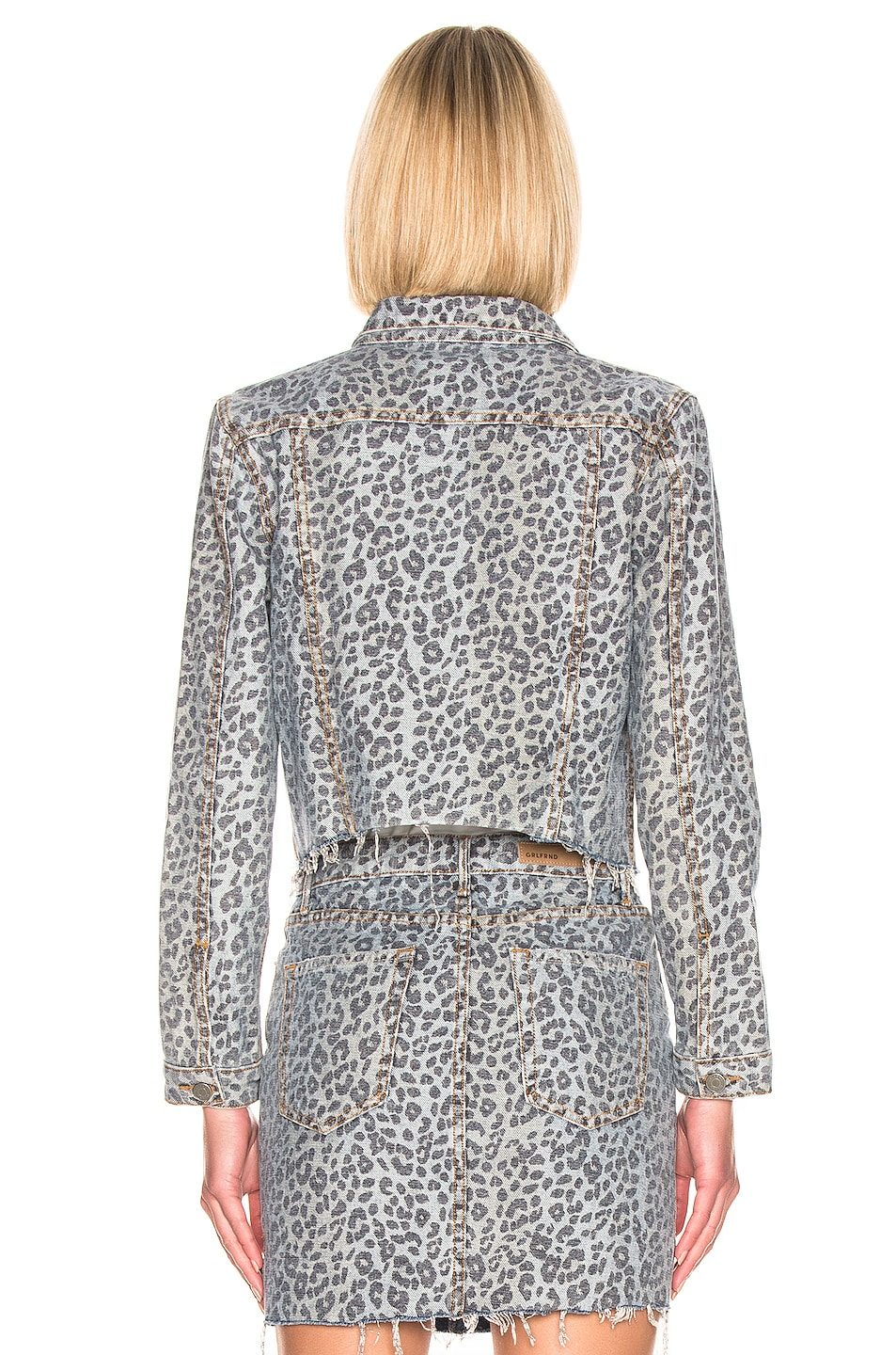 Image 3 of GRLFRND Cara Cropped Jacket in Safari