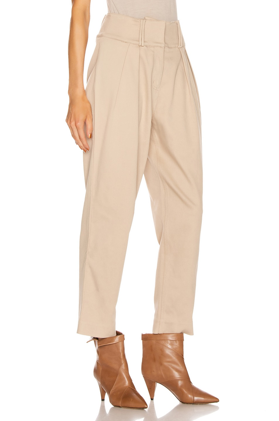 Image 2 of GRLFRND Jorgen Trousers in Khaki