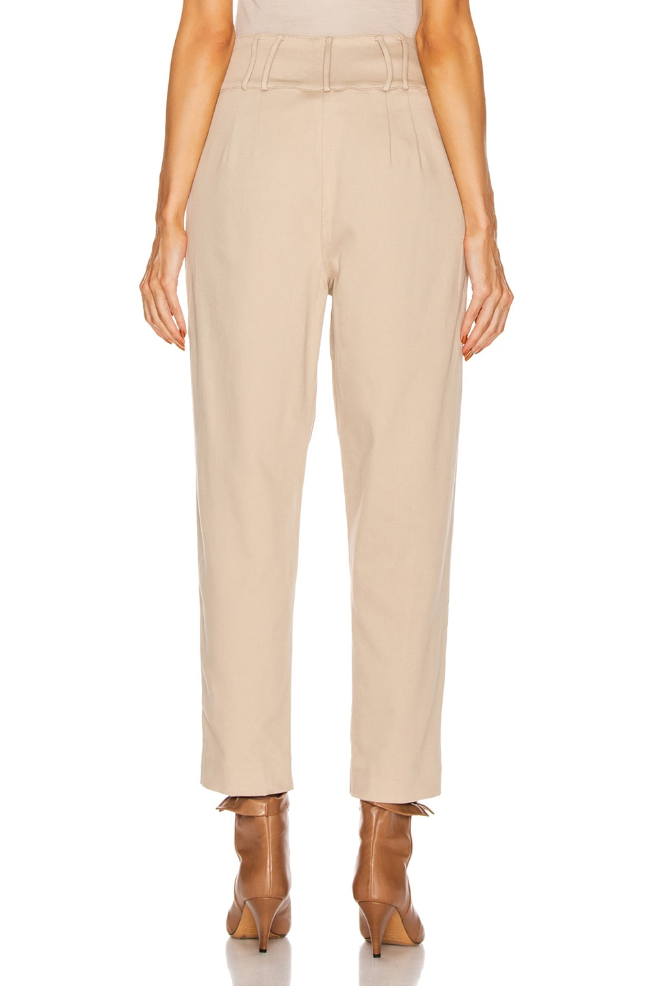 Image 3 of GRLFRND Jorgen Trousers in Khaki