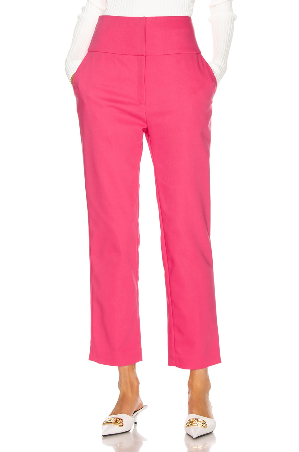 Image 1 of GRLFRND Cameron Trousers in Bright Pink