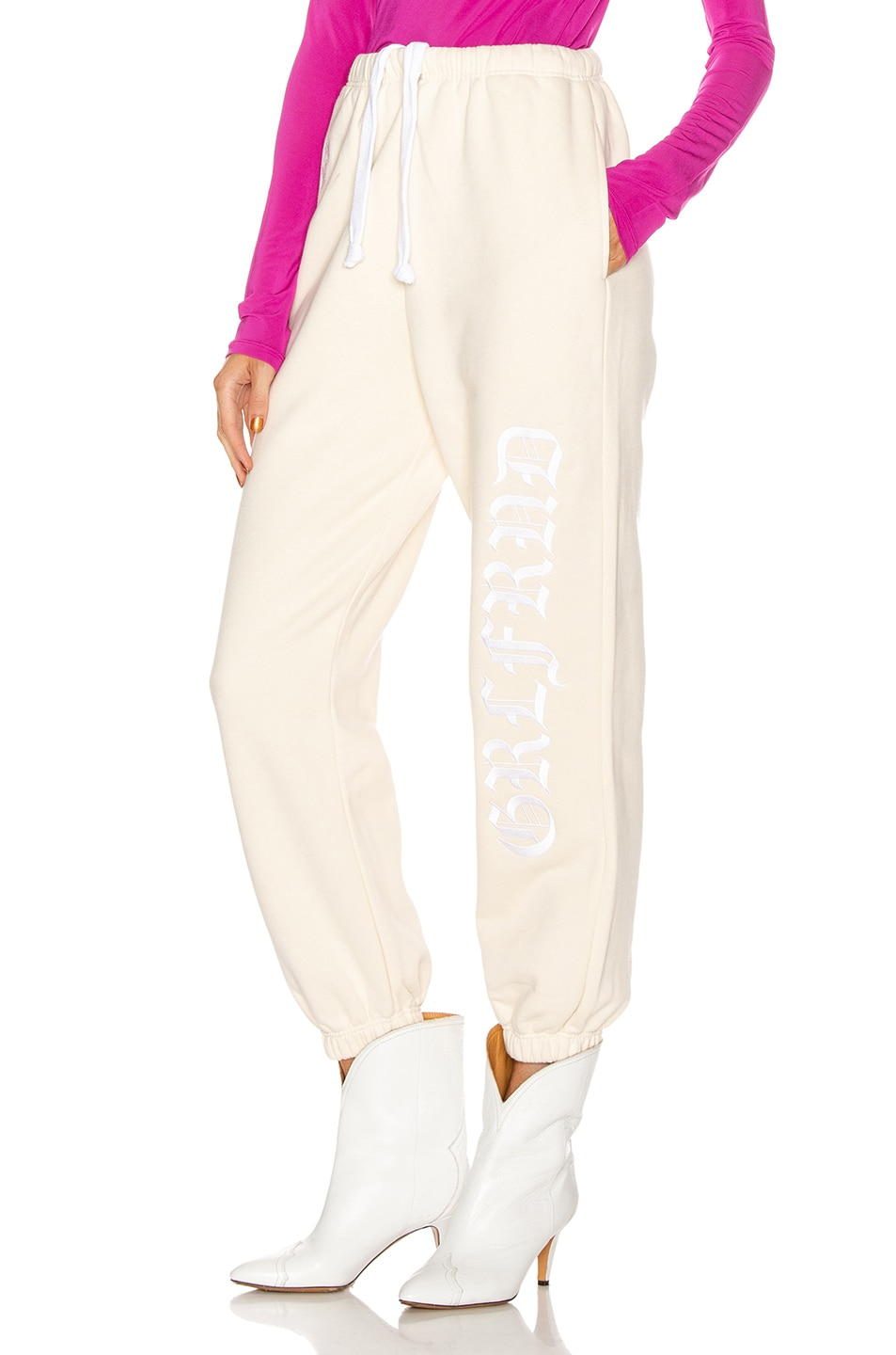 Image 1 of GRLFRND GF Joggers in Off White