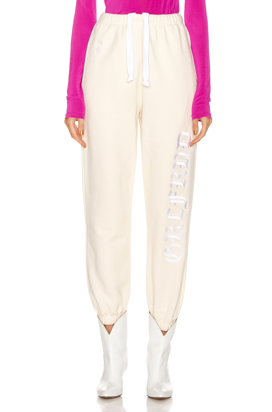 Image 2 of GRLFRND GF Joggers in Off White