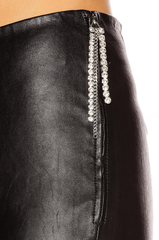 Image 6 of GRLFRND Maci Leather Legging in Black