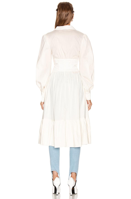 Image 3 of GRLFRND Amelie Top in White
