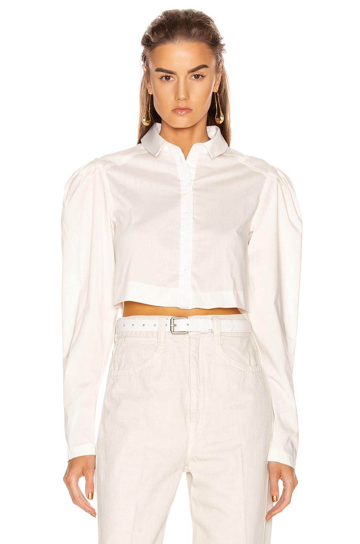 Image 1 of GRLFRND Ryan Blouse in White