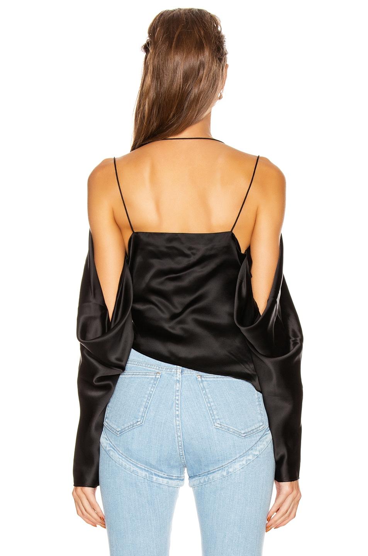 Image 4 of GRLFRND Rowen Blouse in Black