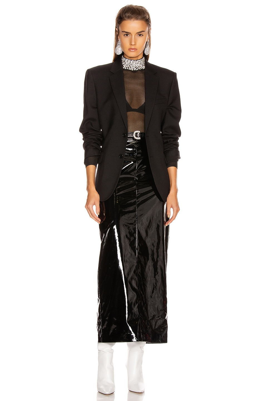 Image 5 of GRLFRND Dasha Bodysuit in Black