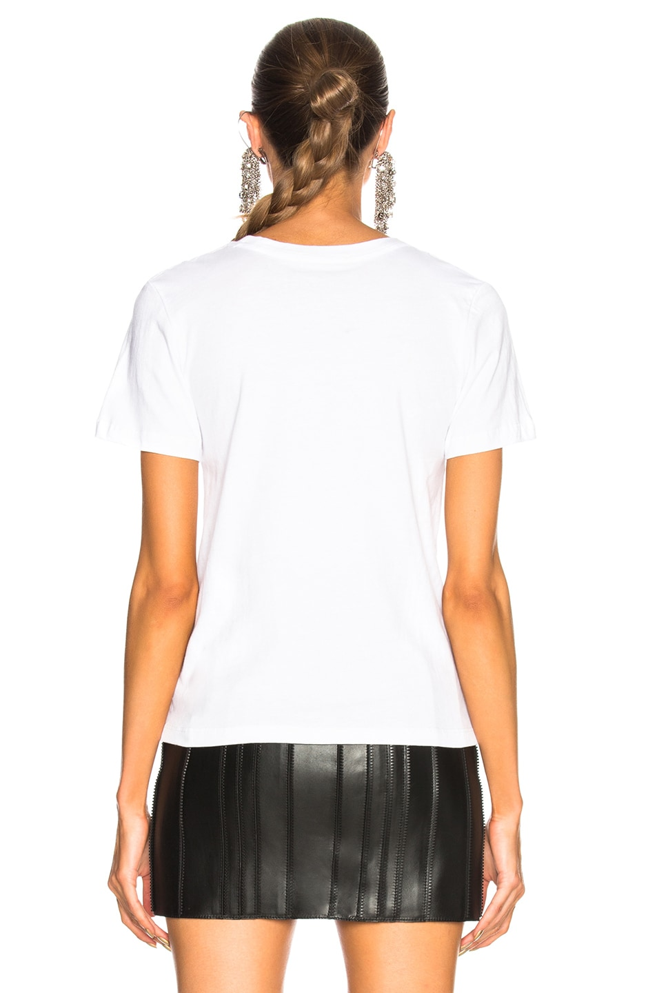 Image 3 of GRLFRND for FWRD Moss Tee in Blanc