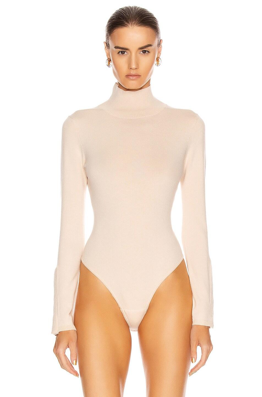 Image 2 of GRLFRND Gigi Bodysuit in Nude