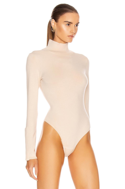 Image 3 of GRLFRND Gigi Bodysuit in Nude