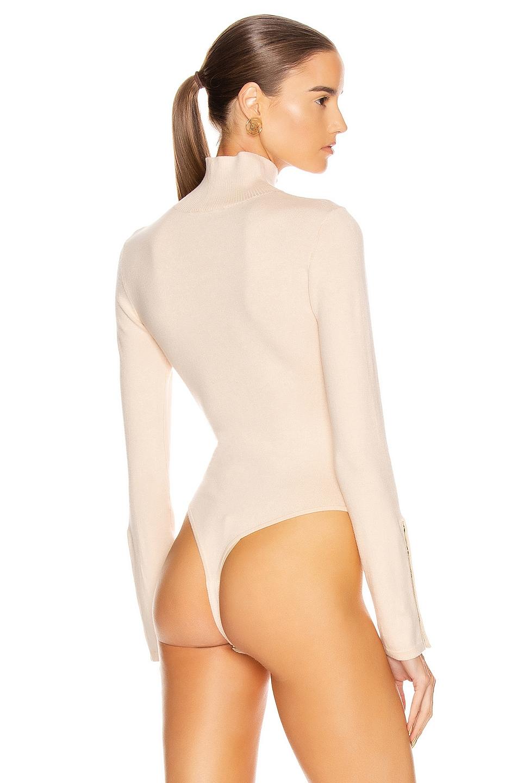 Image 4 of GRLFRND Gigi Bodysuit in Nude