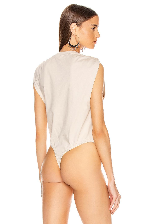 Image 4 of GRLFRND Dillon Bodysuit in Taupe