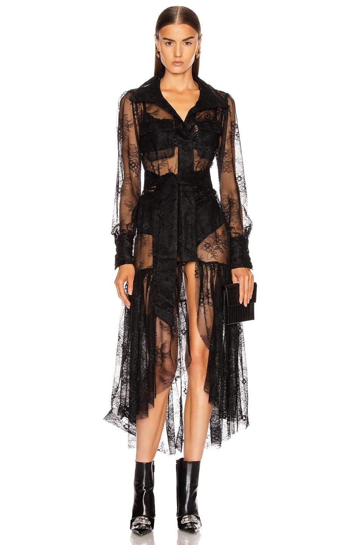 Image 1 of GRLFRND Dakota Midi Dress in Black
