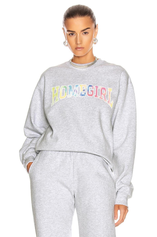 Image 1 of GRLFRND Homegirl Sweatshirt in Ash