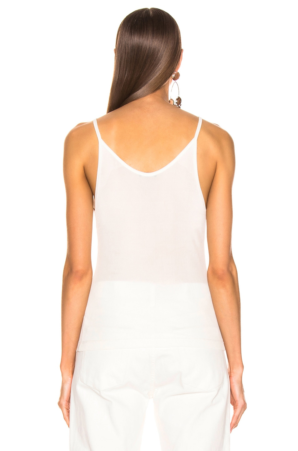 Image 3 of GOLDSIGN Spaghetti Strap Tank in Natural