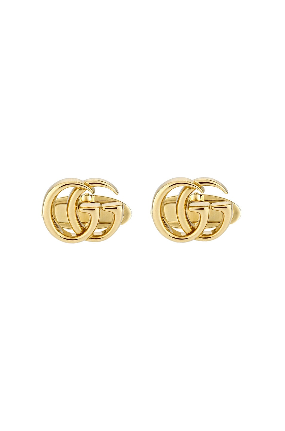 Image 1 of Gucci GG Running Cufflinks in 18KT Yellow Gold