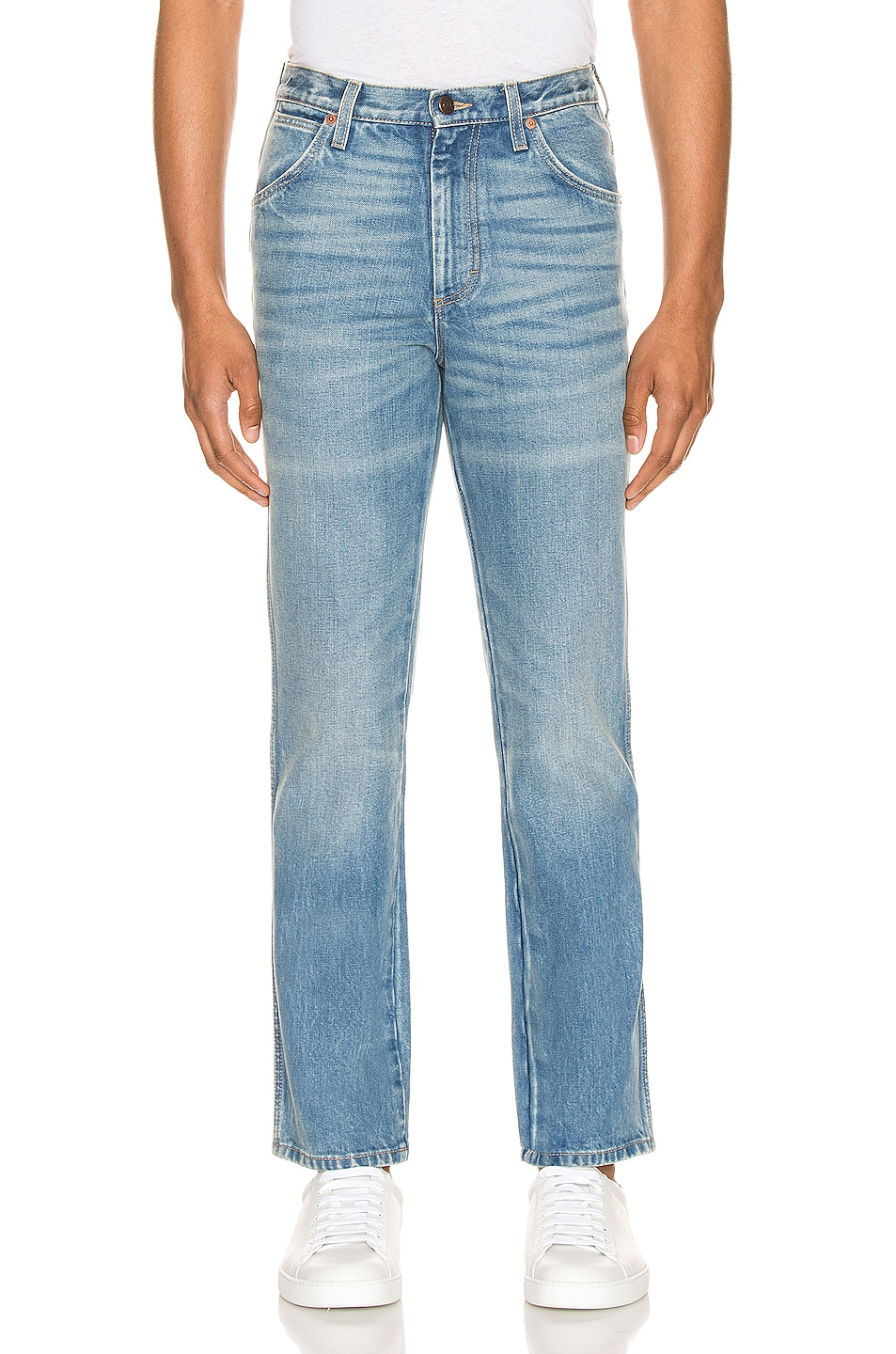 Image 1 of Gucci Marble Washed Denim Pant in Blue