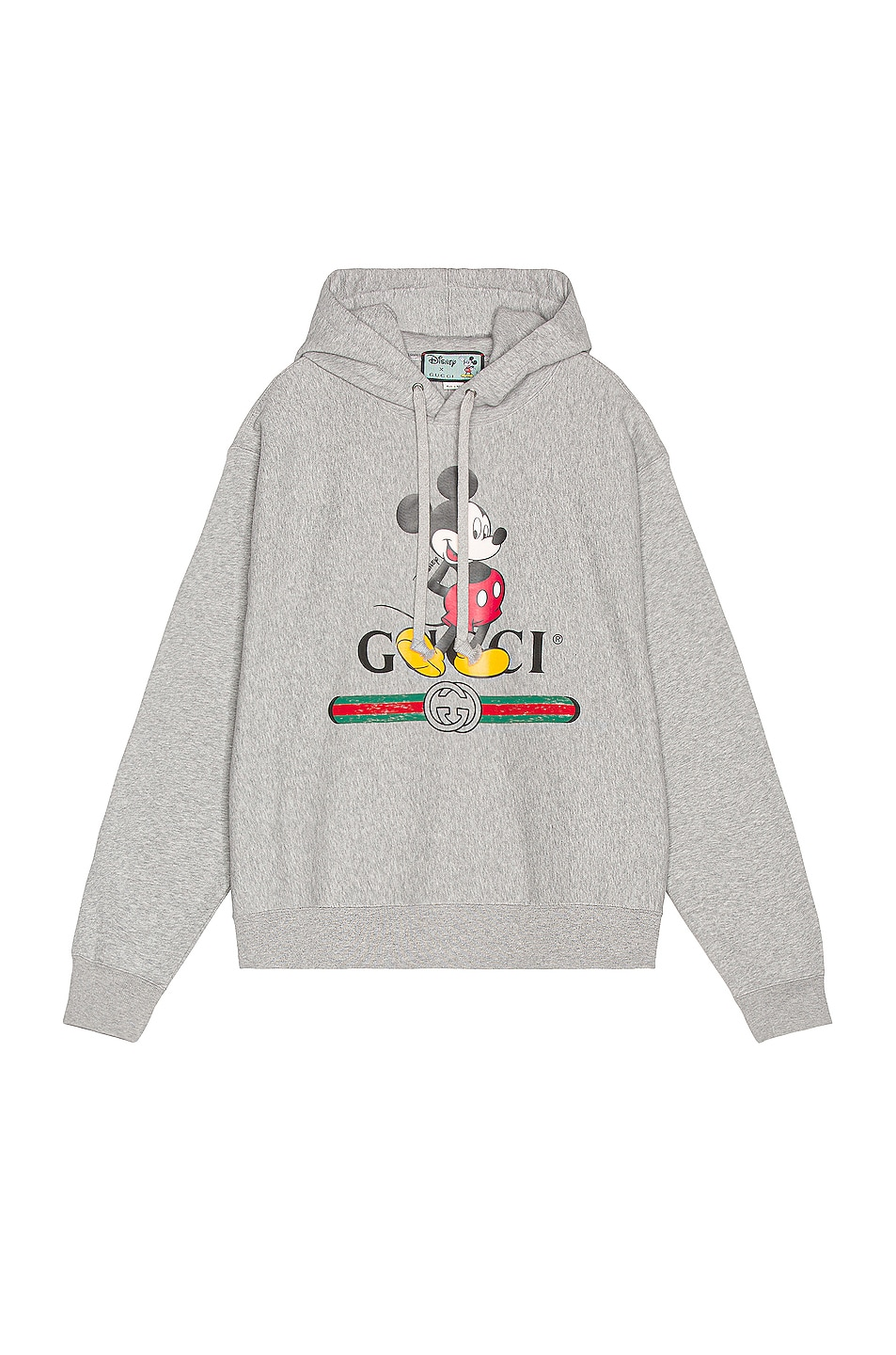 Image 1 of Gucci Mickey Hoodie in Medium Grey & MC