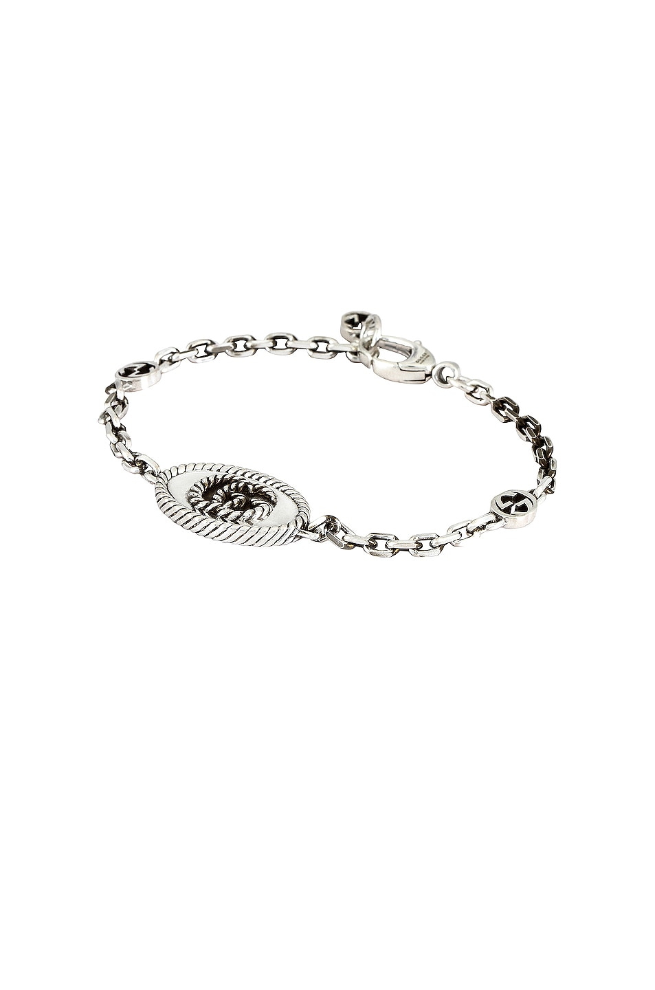 Image 1 of Gucci GG Marmont Bracelet in Aged Silver
