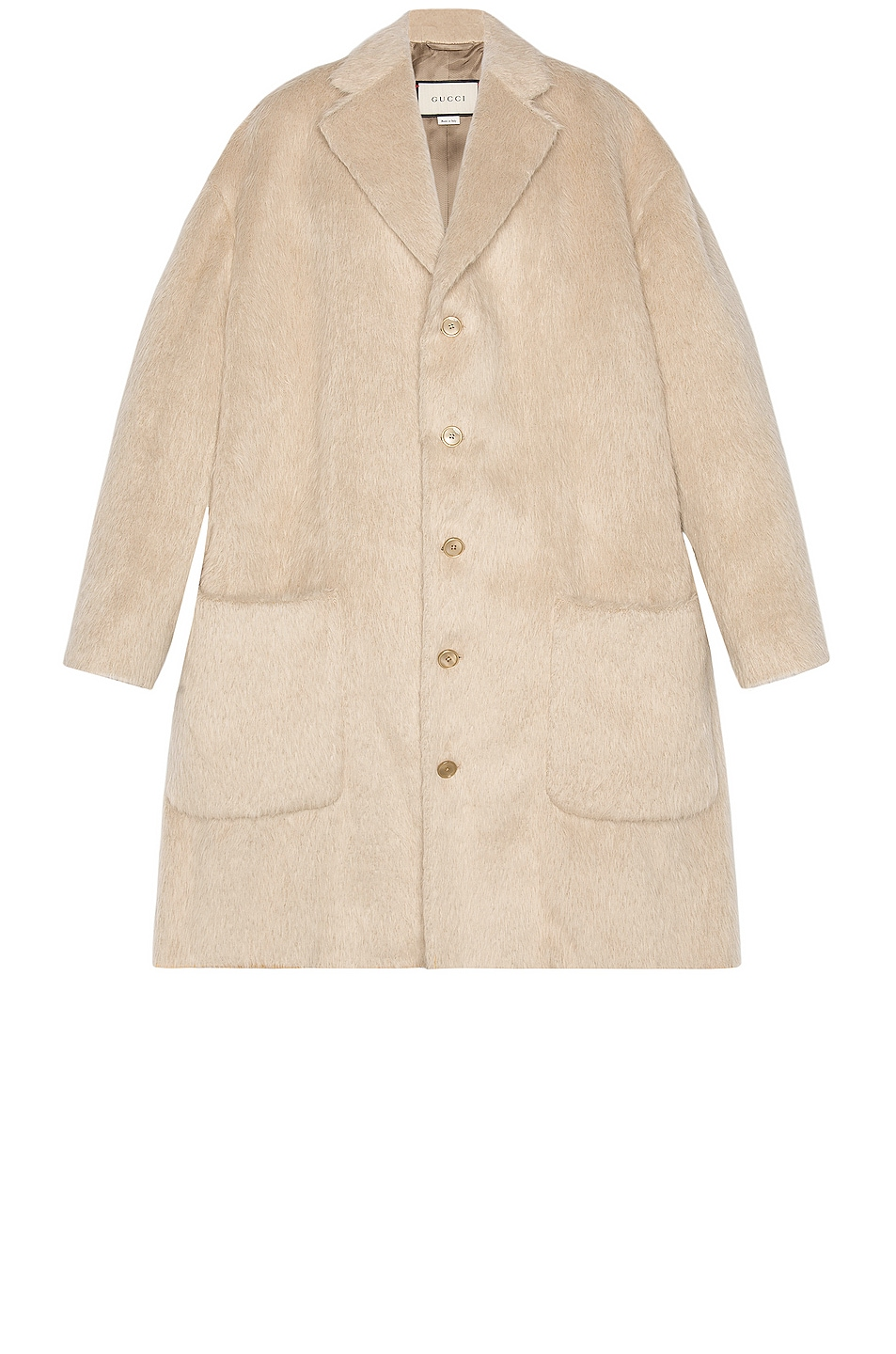 Image 1 of Gucci Overcoat in Birch Grey